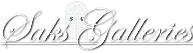 Saks Galleries logo